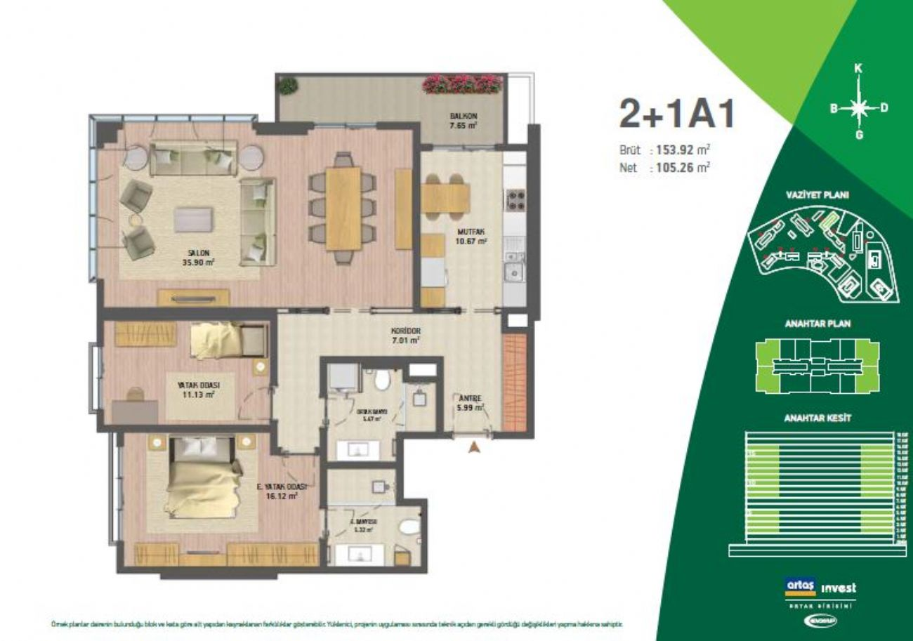 Vadistanbul Floor Plans, Real Estate, Property, Turkey
